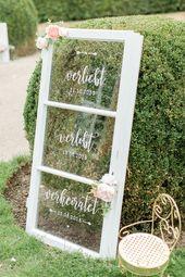 Unser Verliebt | Verlobt | Verheiratet Fenster. Auch das habe ich mit Kunstblume… – Hochzeit Deko