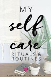 Wenn Sie Schwierigkeiten haben, herauszufinden, wie Sie Selbstpflege in Ihr Leben bringen können, ist dies die … – Self care