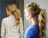 Coiffures cool pour le style – coiffure longue attrayante et pratique – ….   – Stricken rezepte