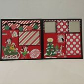 "Photo of Disney Mickeys Frohe Weihnachtsfeier ""2"" Cricut 12×12 Scrapbook Layouts! 