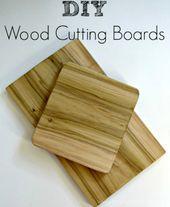 Wie man ein Holzschneidebrett macht