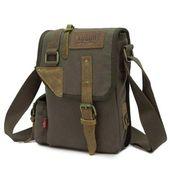 Augur Collection Yaris Vintage Messenger Backpack