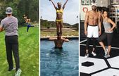 9 of the Fittest Celebrity Couples on Instagram