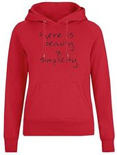 There is Beauty in Simplicity Jacke mit Kapuzenpul…