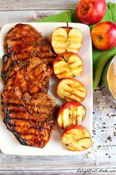 Apple Cider Glazed Pork Chops – Delightful E Made