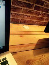 DIY-Palette-XL-Laptop-oder-Computer-Schreibtisch-mit-Speicher – #computer #diypalletXLlaptoporcomputerd …