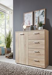 big big Practical chest of drawers in Sonoma oak !!! #furniture #Drink #Drinks ….