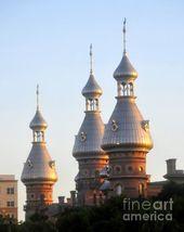 Minarets Of The Old Tampa Bay Hotel A Symbol Of The University Of Tampa Fl University Of Tampa Tampa Bay Hotels Old Florida