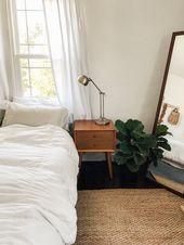 Simple and minimal mid century nightstand.