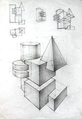 40 geometric drawing ideas