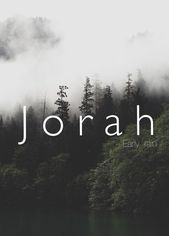 Jorah, früher Regen, Junge, Baby, Mann, Mann, starke Babynamen. Einzigartiger biblischer Name … – Character Creation