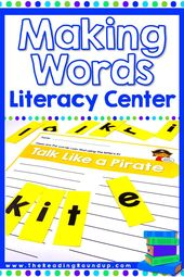 Making Words Literacy Center (Feiertage) – Sight Words
