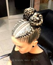 Easy & Trending Braids Hair Style Ideas #briadshai…