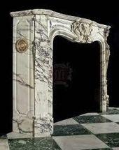Antique 19th Century Carrara Marble Fire Surround …