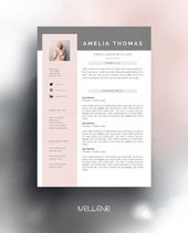 Cv Resume Templates And Coverletter Professional Creative Design Adjustable Layout Clean Page Min Cv Template Job Resume Samples Resume Template