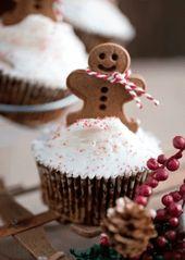 Cupcakes navideños que los niños pueden hacer: 15 golosinas navideñas   – Christmas projects