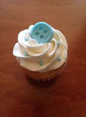 Baby shower cupcakes buttons 15+ Ideas