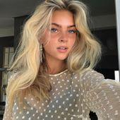 "SIMPLE AFFAIRS on Instagram: ""Her hair ♥️ @emiliasilberg"""