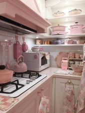 17+ Delicate Shabby Chic Kitchen Cupboards Ideas