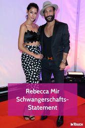 Rebecca Mir Traurige Worte Zu Den Baby Geruchten Rebecca Mir Traurige Worte Traurig
