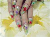 Gel Nagelformen Oval #Cutenailshapes   – fun nail art designs