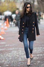 38 einfache Winter-Outfit-Ideen mit Jeans für den Alltag – artbrid.com   – ✰Fashion✰