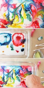 Experiments for kids: 35 insanely cool DIY ideas for home – # clothes