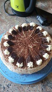 Bailey & # 39; s pie mit Mascarpone, ein leckeres Rezept aus der Tortenkategorie.   – کیکهای کافی شاپی