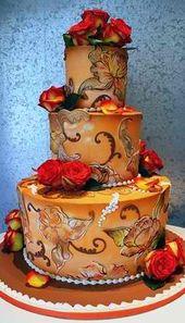Herbst Hochzeitstorten. – tolle Kuchen und Torten – #autumn #cakes #cakes #toll …   – wedding cakes ideas