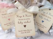 Baby Hugs and Kisses Favor Bags, Baby Shower Kiss Favors, Candy Favor Bags, Set of 10 – Chelsi's girl