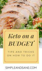 Keto mit kleinem Budget Einfach und gesund -%   – Keto on a Budget – information, recipes & tips
