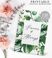 Tropical Wedding Planner Printable, Wedding Planning Book, Printable Wedding Planner, Wedding Binder Template, Engagement Gift Ideas, PDF   – Wedding Planners   Ultimate Wedding Planning Resource Hub