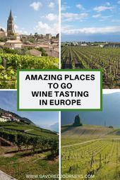 18 Best Wine Regions in Europe for Wine Lovers