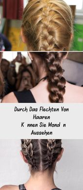 By braiding hair, you can look sophisticated. Great inspiration for shoulder-length hair braiding: Instructions for braiding peasant braids …