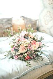 Brautstrauß mit Eukalyptus   – Brautstrauß