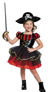 Girl's Preocious Pirate Costume