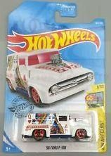 New 2019 Hot Wheels 56 Ford F 100 Hw Art Cars Queen Of Hearts Art Cars Hot Wheels Minted Cards