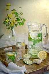Trinken Sie Wasser für die Figur – 15 Detox-Wasser-Rezepte zum Abnehmen – Get …
