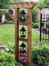 40 Inspiring DIY Initiatives Backyard Landscaping Design | ARA HOME #gardenideas #gar…