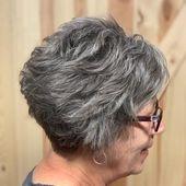 70 wunderschöne kurze Frisuren, Trends und Ideen für Frauen über 50 im Jahr 2019