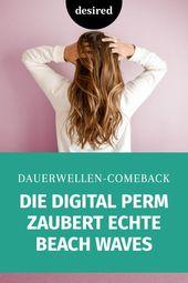 Digital Perm: Der Stift ist 2019 so stylisch   – Inspiration für lange Haare
