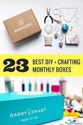 24 Beste Abo-Boxen für Heimwerker-, Hobby- und Bastelzwecke   – Craft Kits + Monthly Subscription Boxes