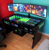 My computer rig tower pc gaming setup liquid cooled wow world of warcraft wall p… – #Computer #cooled #gaming #liquid #pc