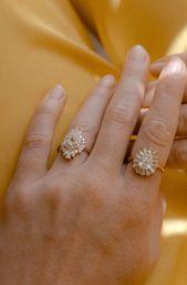 Stella Art Deco Engagement Ring | Marrow Fine R E T R O G R A DE Collection | En…