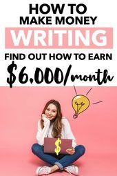 So werden Sie freiberuflicher Schriftsteller und arbeiten von zu Hause aus   – money
