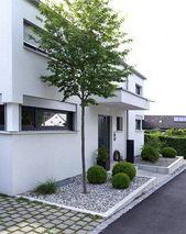 Construcción de un nuevo jardín casero con áreas de concreto de gran formato pa   – Garten Casa Asche