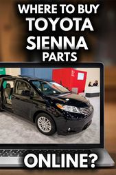 Where to Buy Toyota Sienna Parts Online? [25 Stores – VEHQ.com RV & Pickup Truck Guides