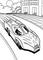 Kolorowanki Samochody Hot Wheels Malowanki Do Wydruku Nr 2