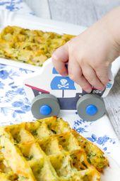 Gemüsewaffeln für Kinder aus dem Ofen   – KOCHEN FÜR KINDER  | kidfriendly food