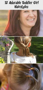 12 adorable hairstyles for toddler girls – health and diet fitness – mothers of little girls often dream of the days on which they …